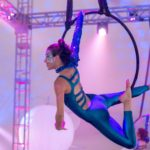 Aerial Hoop or Lyra with Showstoppers Interactive Entertainment.