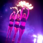 Fire Fan Dancers